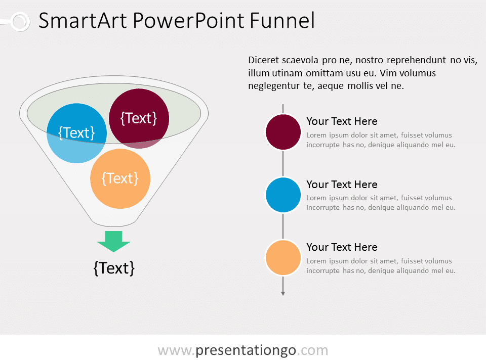 Smartart the free powerpoint template library powerpoint funnel diagram toneelgroepblik