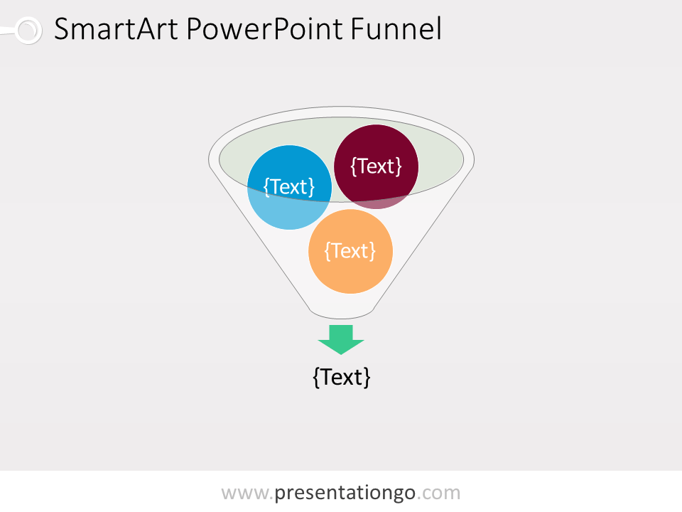powerpoint funnel diagram - presentationgo, Modern powerpoint