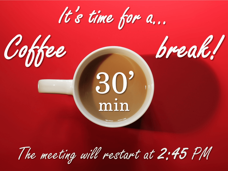 coffee break powerpoint template presentationgo com