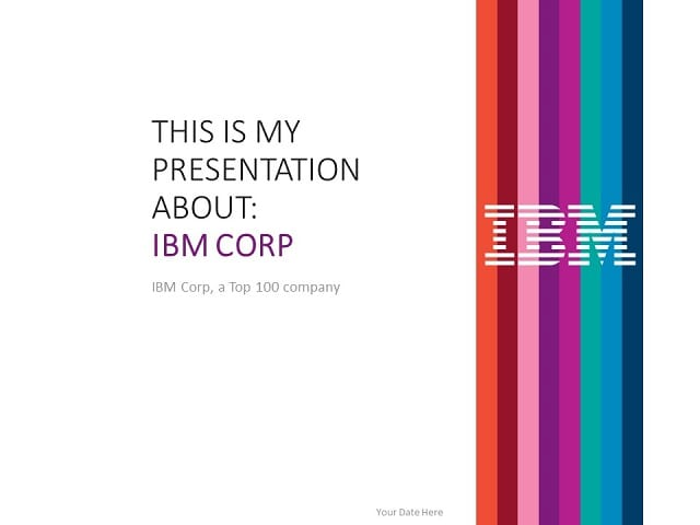 ibm powerpoint template presentationgo com