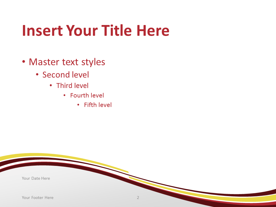 Free PowerPoint template with flag of China background. Title and Content slide.