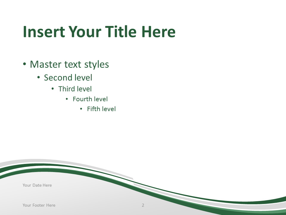 Free PowerPoint template with flag of the Nigeria background. Title and Content slide.