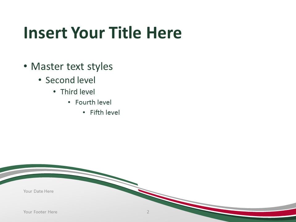Free PowerPoint template with flag of the Mexico background. Title and Content slide.
