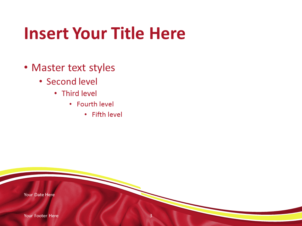 Free PowerPoint template with flag of Vietnam background. Title and Content slide.