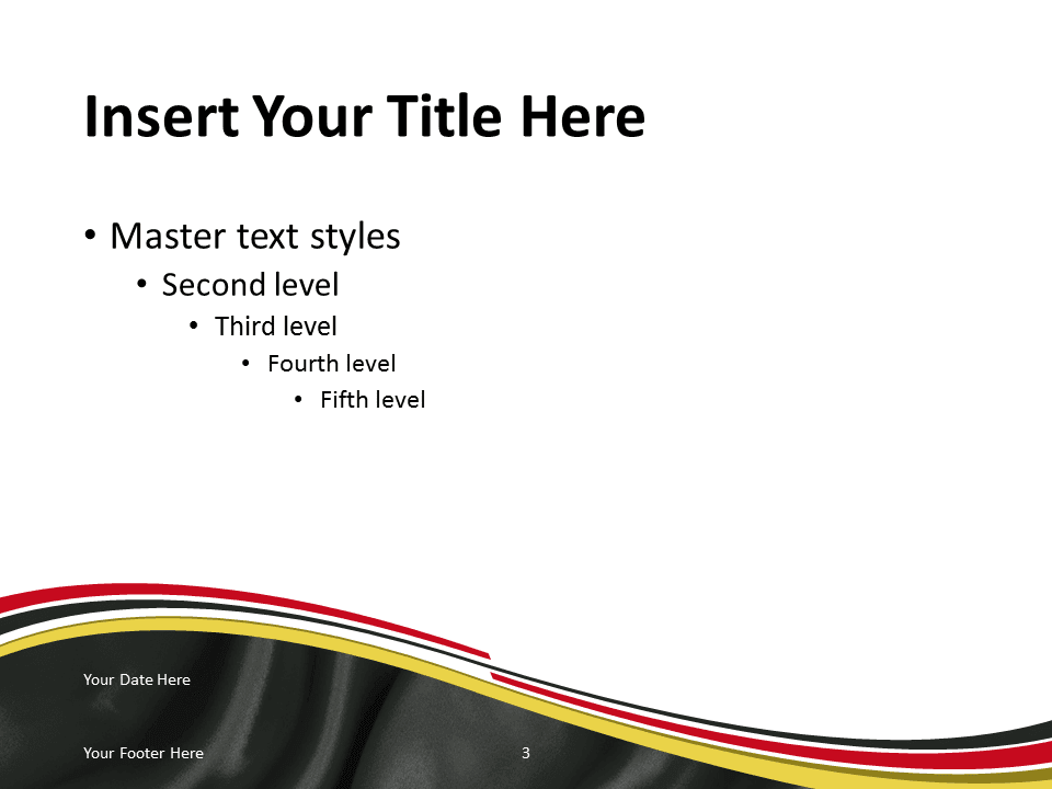 Germany Flag PowerPoint Template  PresentationGO.com