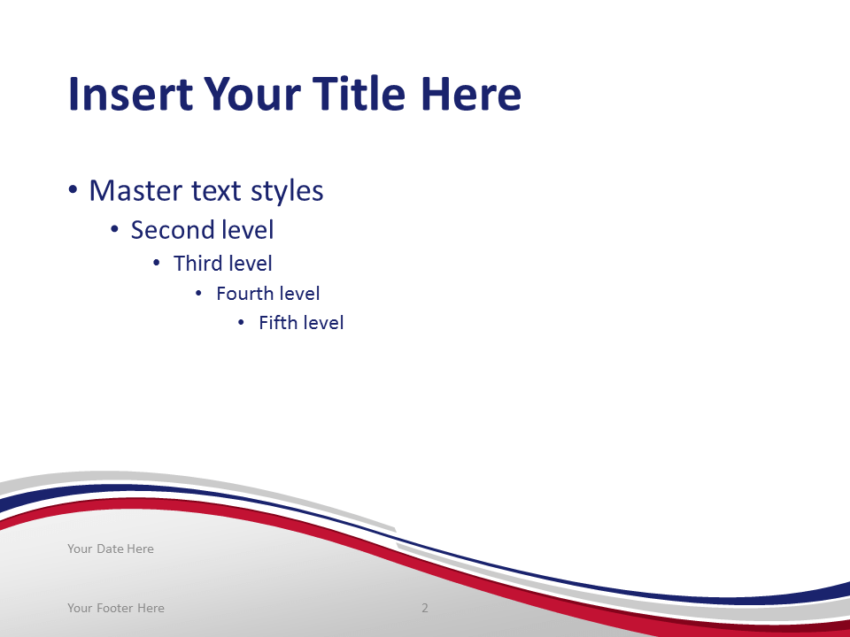 Free PowerPoint template with flag of Thailand background. Title and Content slide.