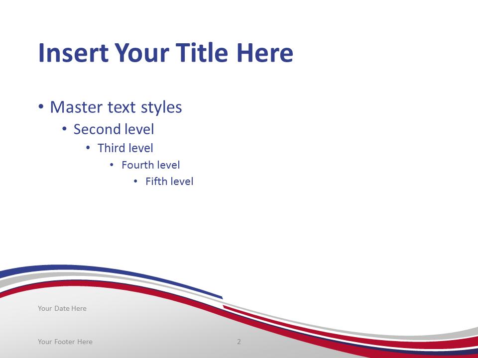 France Flag PowerPoint Template - PresentationGO.com
