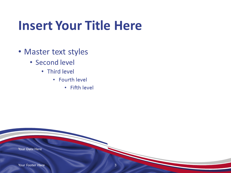 france flag powerpoint template - presentationgo, Modern powerpoint