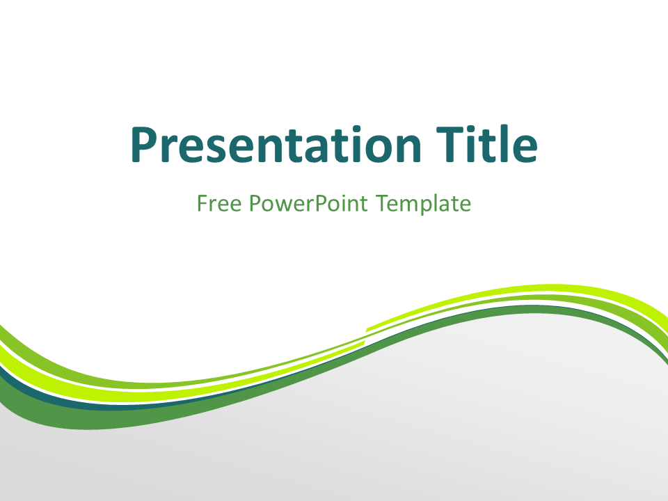 wave powerpoint templates