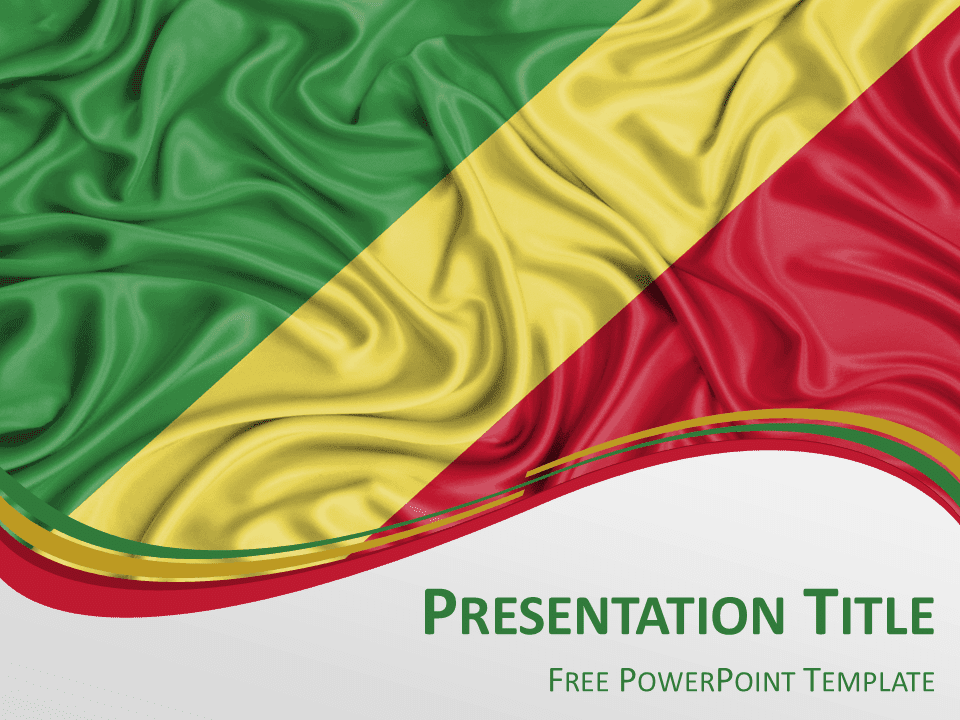 Africa the free powerpoint template library congo flag powerpoint template toneelgroepblik Gallery
