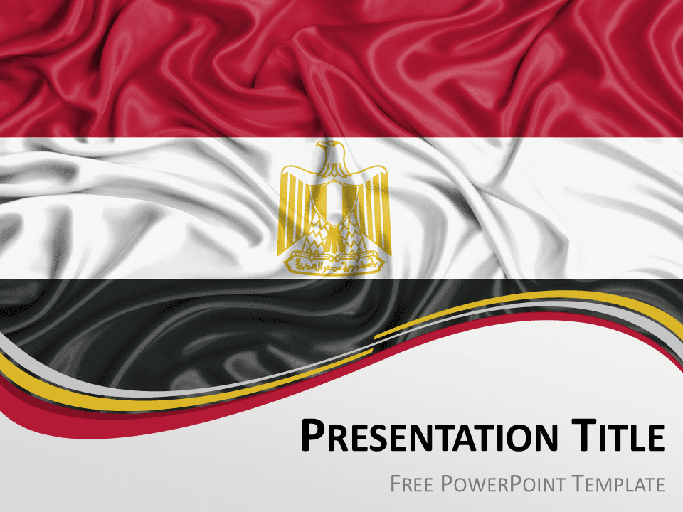 Africa the free powerpoint template library egypt flag powerpoint template toneelgroepblik Gallery