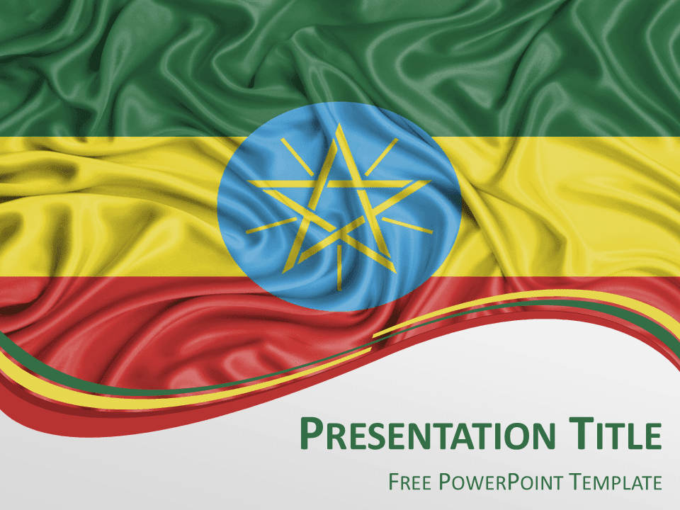 save slide master as template - ethiopia flag powerpoint template