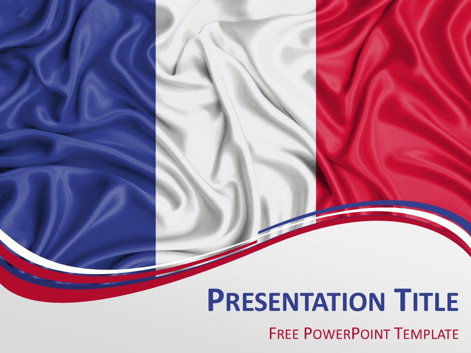 Free maps powerpoint templates page 3 of 4 presentationgo france flag powerpoint template toneelgroepblik Gallery