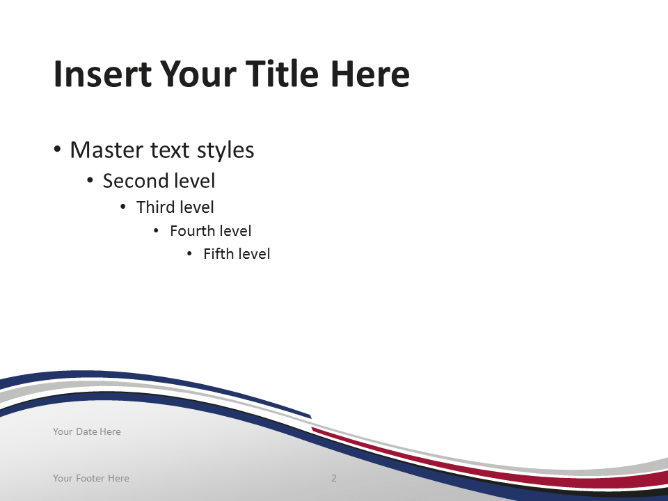 Free PowerPoint template with flag of South Korea background. Title and Content slide.