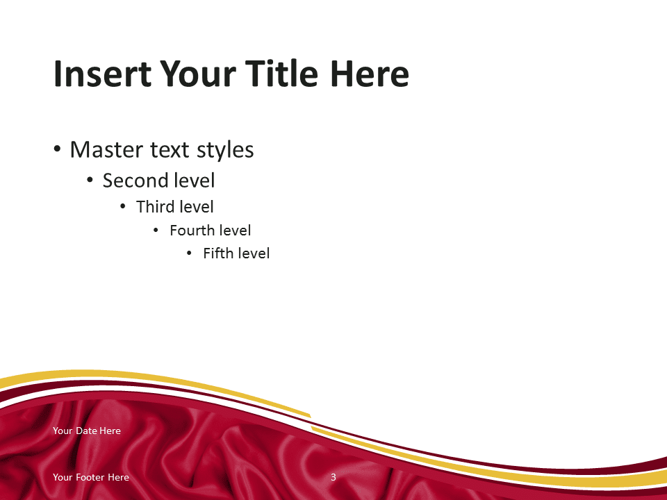 Spain Flag Powerpoint Template Presentationgo