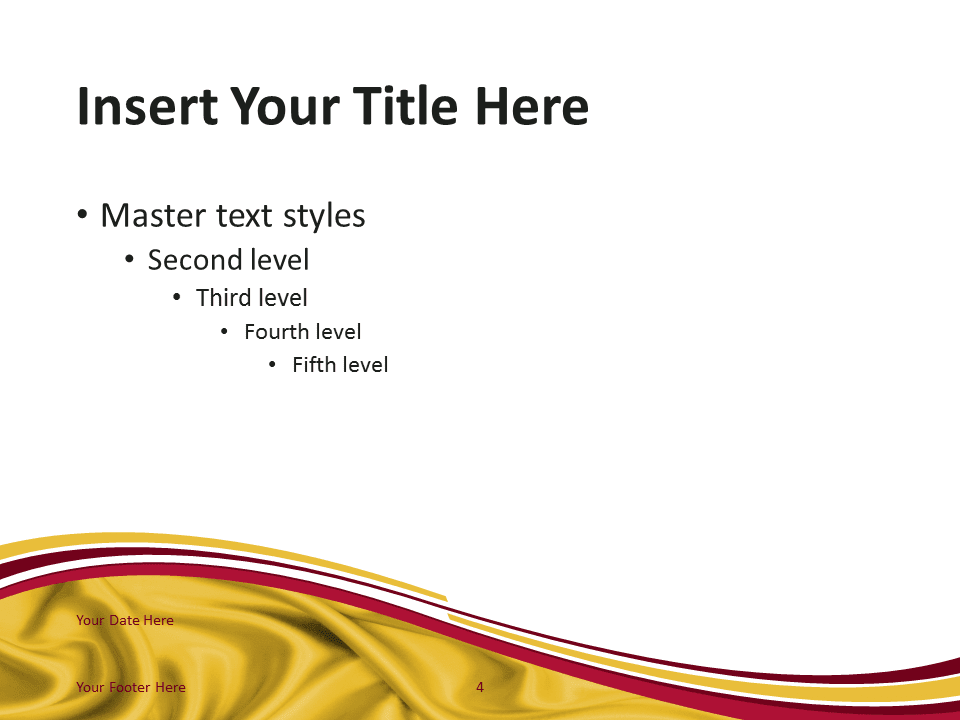 Free PowerPoint template with flag of Spain background. Title and Content slide.
