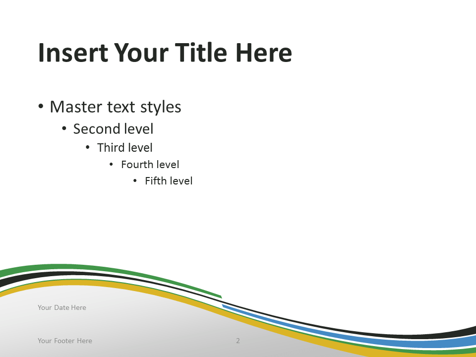 Free PowerPoint template with flag of Tanzania background. Title and Content slide.