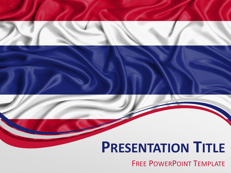 Flag powerpoint background geccetackletarts thailand flag powerpoint template presentationgo com toneelgroepblik
