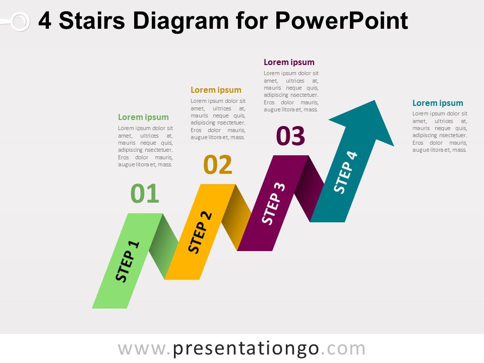 free stairs powerpoint templates presentationgocom