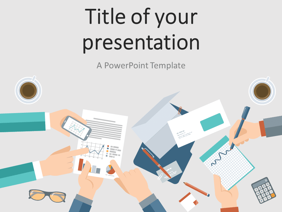 Business Meeting PowerPoint Template - PresentationGo