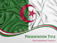 Africa the free powerpoint template library algeria flag powerpoint template toneelgroepblik Gallery