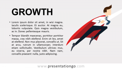 Growth - Metaphor PowerPoint Template