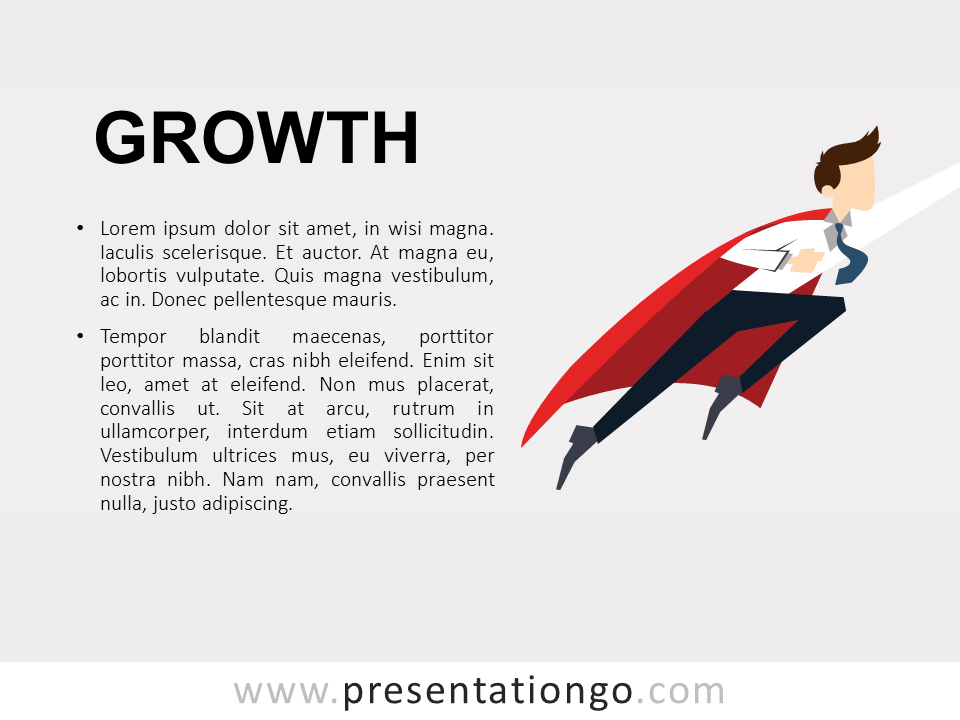 Free Growth PowerPoint Template Metaphor