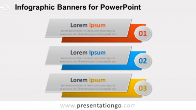 Infographic Banners for PowerPoint - Widescreen