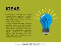 Free PowerPoint Concept Template Ideas - Green Slide