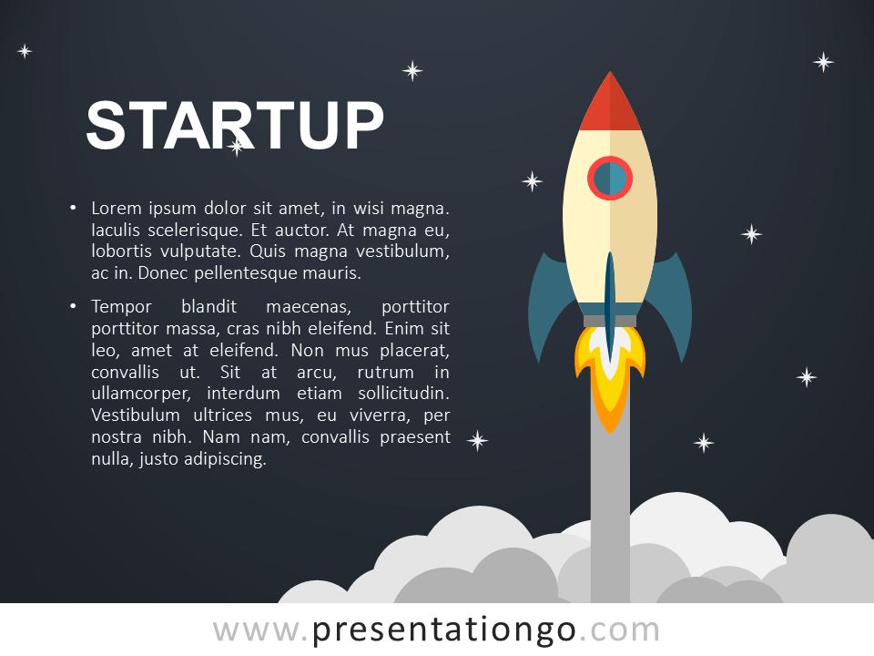 Startup Metaphor For PowerPoint PresentationGo