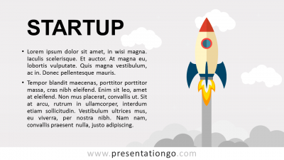 Ideas Startup PowerPoint Template