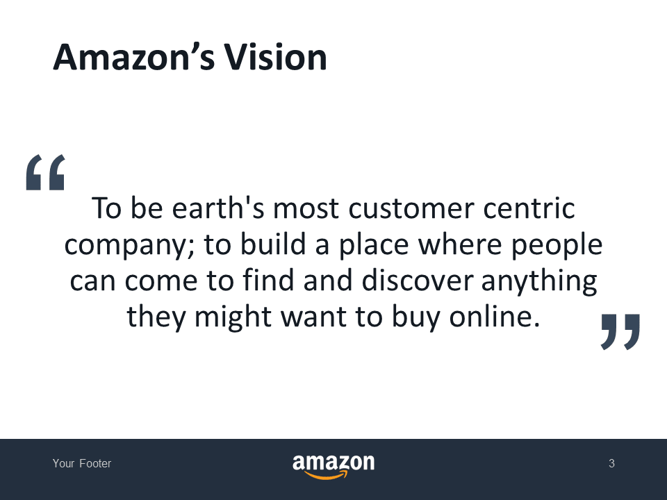 Amazon's Vision - Free Template for PowerPoint - Slide 3