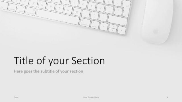 Free Desk Template for Google Slides – Section Slide (Variant 1)