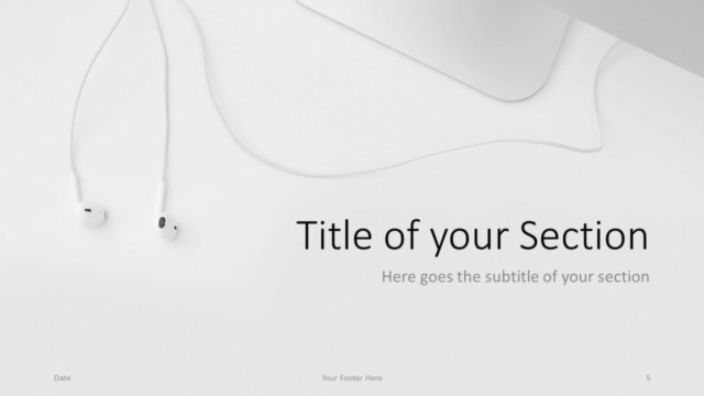 Free Desk Template for Google Slides – Section Slide (Variant 2)