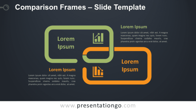 Free Comparison Frames Graphics for PowerPoint and Google Slides
