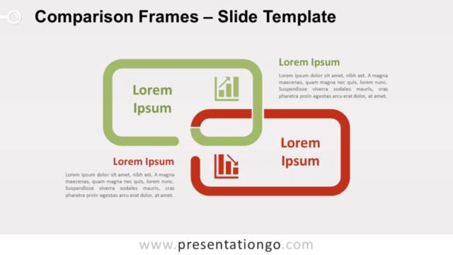 Free Comparison Frames for PowerPoint and Google Slides