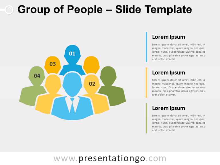 Free Group of People for PowerPoint