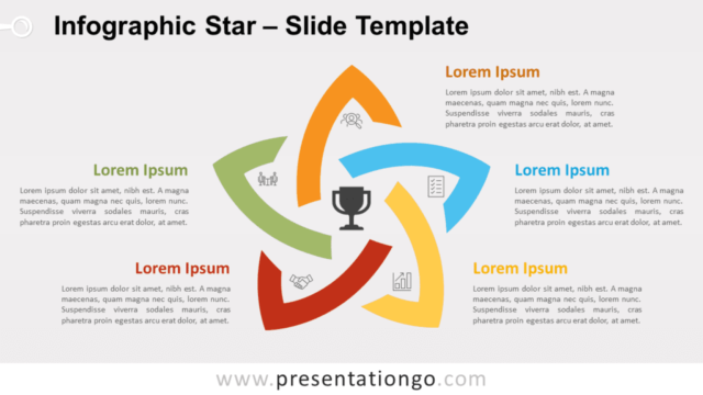 Free Infographic Star for PowerPoint and Google Slides
