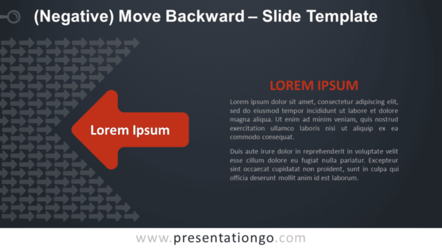 Free Negative Move Backward Graphics for PowerPoint and Google Slides