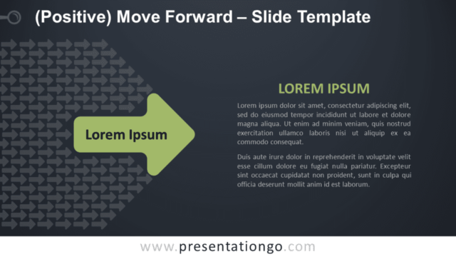 Free Positive Move Forward Graphics for PowerPoint and Google Slides