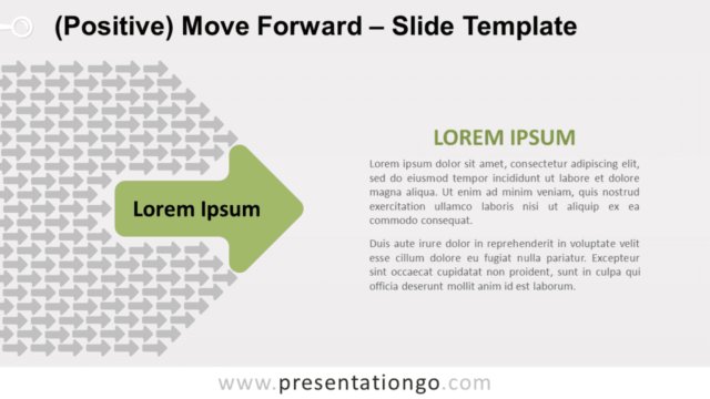 Free Positive Move Forward for PowerPoint and Google Slides
