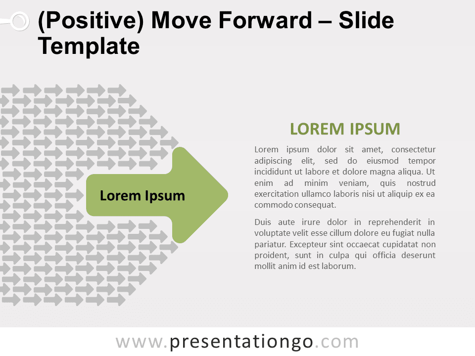 Free Positive Move Forward for PowerPoint