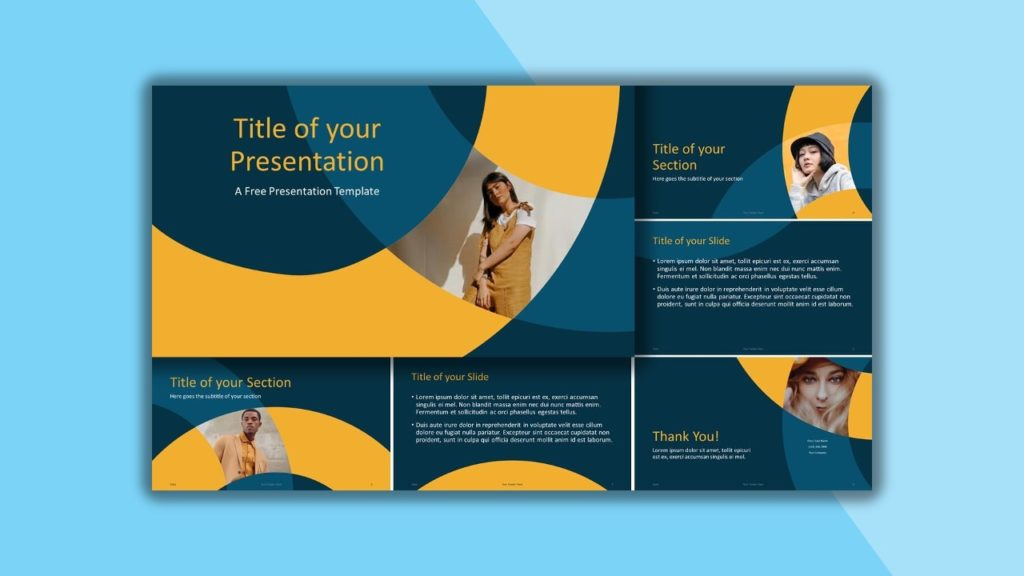 Free Golden Ring for PowerPoint and Google Slides