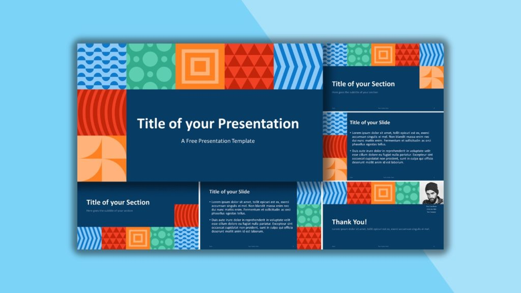 Free Neo-Geometric for PowerPoint and Google Slides