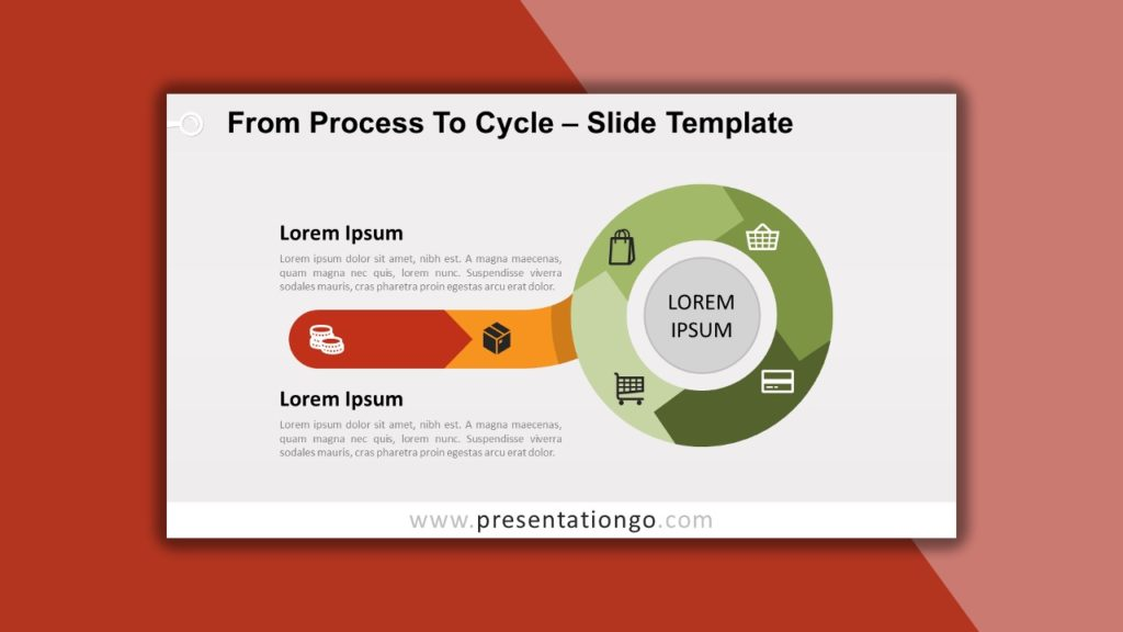 Free From Process to Cycle for PowerPoint and Google Slides