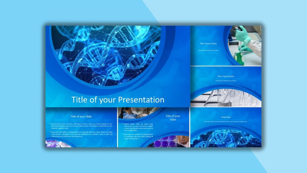Free Medical Research Template for PowerPoint and Google Slides
