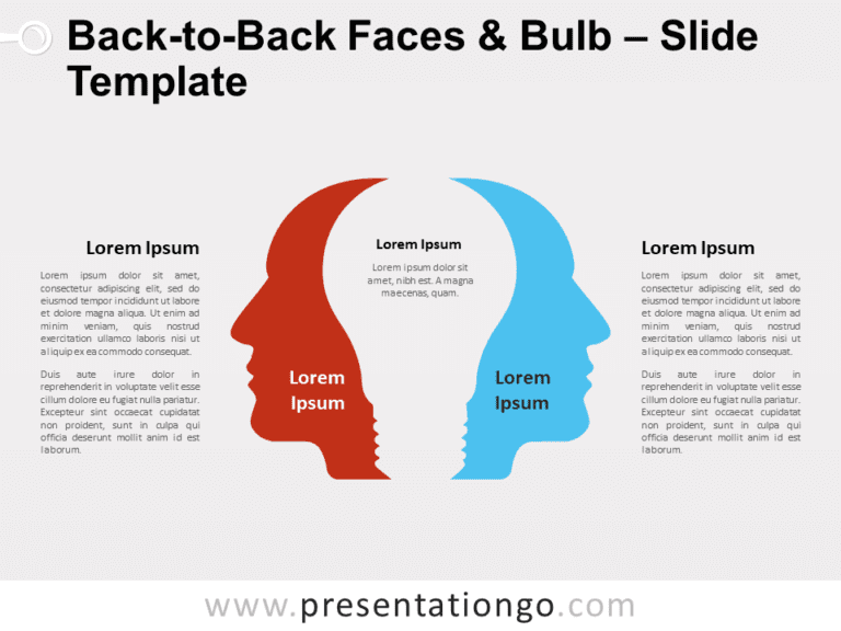 Free Back-to-Back Faces and Bulb for PowerPoint